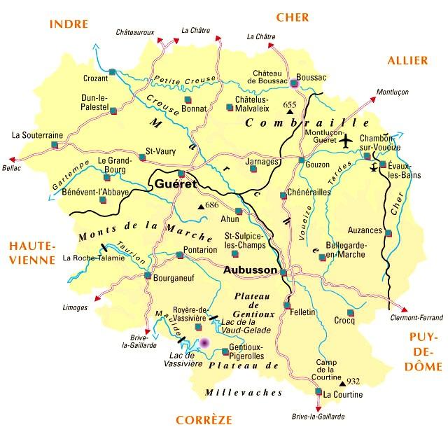 tourisme departement de la creuse - Image