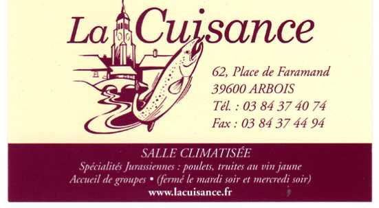 Bar Restaurant La Cuisance 1954 Image