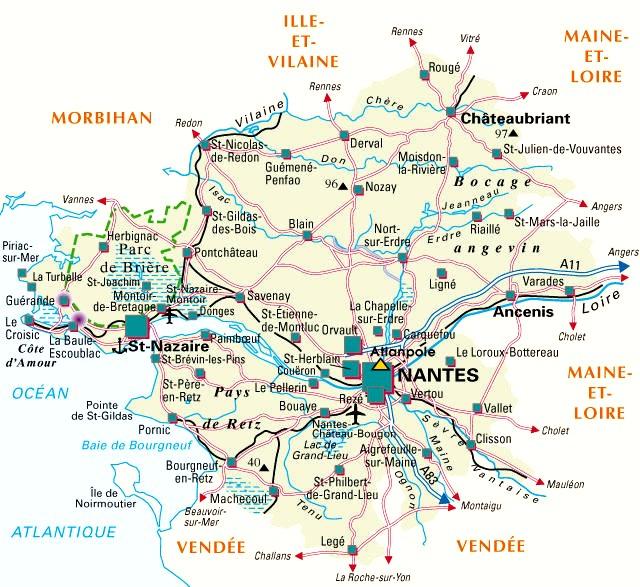 Loire atlantique d partement 44 voyages cartes - Piscine loire atlantique ...