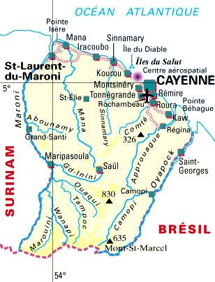 guyane departement 973